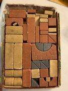Vintage Anchor Stone Blocks Over 40 Pieces From The 1900's