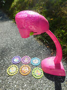 Vtg Rare Lisa Frank Unicorn Easy Draw Tracing Projector Kb Toy W Picture 6 Discs