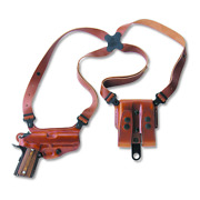 Galco International Miami Classic Shoulder System Color Tan Gun Fit Walther Pp