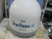 Kvh Tracvision 4 Antenna With Some Cables
