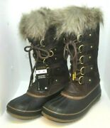 Sorel Womenand039s Joan Of Arctic Waterproof Boots Size Uk 5 Rrp.andpound180.00