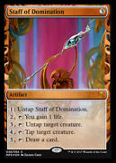 [1x] Staff Of Domination - Foil - Near Mint, English - Kaladesh And Aether Revolt