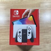 Nintendo Switch Oled Model With White Joy-con Sealed In Hand Ready To Ship New