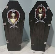 Jack Sally Nightmare Before Christmas Limited Edition Figures Disney Store Nrfb