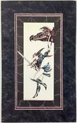 Lawrence Allen Williams Art Partners In Crimes Matted Nm-