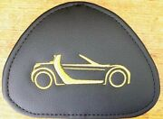 Smart Roadster Leatherlook Headrest Inlays Inserts Fits All Roadster 452 Models