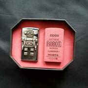 New Unused Antique Robot Series Zippo Limited To 1000japan