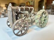 Antique Cast Iron Toy Tractor-fordson By Arcade