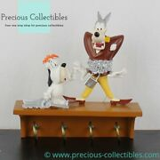 Extremely Rare Wolf And Droopy Key Rack. Turner Entertainment. Tex Avery