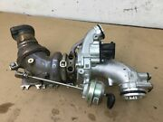Mercedes C43 W205 Amg 3.0l Left Turbocharger Turbo Charger Manifold 17-19  @9