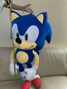 Huge Sonic The Hedgehog 48 Inch Plush Doll 2020 Toy Factory Authentic Sega Nwt