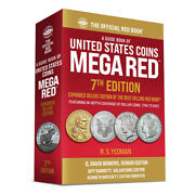 2022 Whitman Official Mega Red Book Of Us Coins 7th Edition R.s. Yeoman