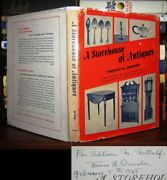 Thomas H. Ormsbee A Storehouse Of Antiques Signed 1st 1st Edition 1st Printing