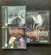 Clock Tower Ps1 Trilogy