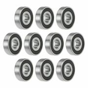16100-2rs Deep Groove Ball Bearing 10x28x8mm Double Sealed Chrome Steel P0 10pcs