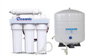 Oceanic Home Pure Ro Reverse Osmosis Water Filter System 5 Stage 100 Gpd | Usa
