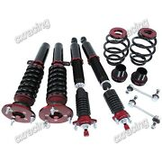 Cxracing 32-step Damper Coilovers Suspension Kit For 98-02 Bmw E46