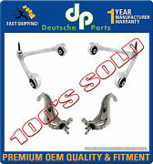 Jaguar S Type Upper And Lower Control Arm Arms Steering Knucklew/ball Joints Kit 4