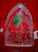 Waterford, 1998 Nativity Collection Ornament, Holy Family, Mint In Original Box