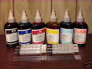 Non-oem 6 Colors 100ml X 6 Bottles Refill Ink For All Epson Printer And Ecotank