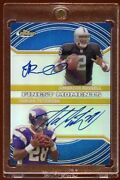 Adrian Peterson Russell Finest Rc Gold Xfractor Auto1/1