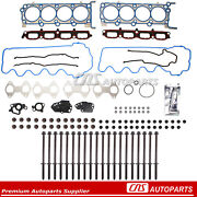 Fits 07-14 Ford F150 Expedition Lincoln 5.4 Sohc 24v Head Gasket Head Bots Set