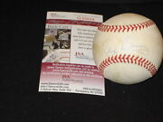 Rex Barney Dodgers Signed Autographed Authentic Rawlings Onl Baseball Jsa Rare