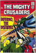 The Mighty Crusaders Comic Book 2, Archie Comics 1966 Very Fine