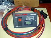 Onan Silent Remote Gas Start Switch Hour Meter With 25and039 Harness 8-pin Plug 12v
