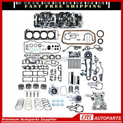 For 85-95 Toyota 4runner Pickup 2.4 Cylinder Head And Engine Rebuild Kit 22re