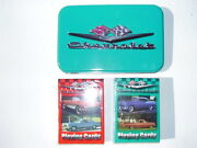 Collectible Licensed Chevrolet Limited Edition Tin With Playing Cards New