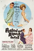 Period Of Adjustment 1962 U.s. One Sheet Poster