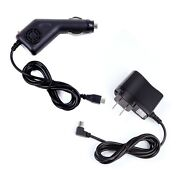 Car Auto Charger +ac/dc Wall Power Adapter For Bushnell Gps Neo+ 368050 368150