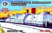 Ummt 1/72 636 Wwii Soviet Red Army Armored Train A Fascism Fighter Base Variant