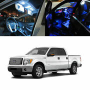 7 X 5050 Smd Full Led Interior Lights Package Deal For 2004-14 Ford F150 4-door