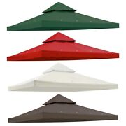 8x8and039 Gazebo Top Outdoor Canopy Replacement Cover Uv30+ Patio Sunshade Backyard