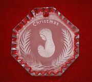 Waterford, Incredibly Rare Waterford Ornament, 1970's, Madonna, Virgin Mary, Mib
