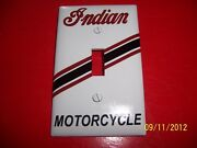 1- Indian Motorcycles Standard Light Switch Plate Cover New Vintage Looking