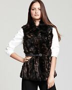 Elie Tahari Shearling Fur Vest Already Sold Out For 2021 @ Bergdorf 1698