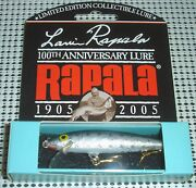 Rapala 100th Anniversary Limited Edition Fishing Lure Lr100 Arr
