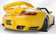 Porsche Gt2 Bi-wing For 996 And 997 Turbo Coupe Or Cabriolet Aggressive Yet Under