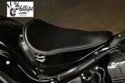 2000-2013 Rich Phillips Leather Black Harley Softail Motorcycle Seat Mounting