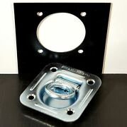 16 Recessed Floor D Ring W Backing Plate Enclosed Trailer Cargo Trailer Tie Down
