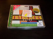 Essential Beer Guide Home Brewing Step By Step Brew Pc Mac Cd Rom New