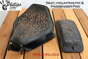2010-2013rich Phillips Motorcycle Seat Mounting Kit Passenger Pad Harley Chopper
