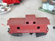 Vintage O Scale Marx Plastic Southern Pacific Caboose Car Shell Look