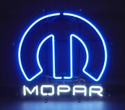 Neon Sign Mopar Omega M Chrysler Plymouth Muscle Car Charger Dodge Ram Cuda