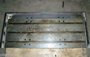 44.25 X 19.75 X 7 T-slotted Steel Table Cast Iron T-slot Off Of Hurco Bmc-30