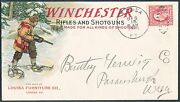 Winchester Rifles And Shotguns Advertising Cover Used Multi-color Hv4737