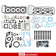 For 95-04 Toyota Tacoma 4runner 2.4 2.7 Full Gasket/bolts Silicone 2rzfe 3rzfe